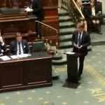 Demande allemande de fermer Doel 3 et Tihange 2: mon intervention en séance plénière de la Chambre.