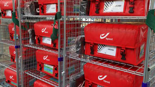 Illustration picture shows the new mail center of Belgian post company bpost, in Oudenaarde, Tuesday 07 June 2016. BELGA PHOTO NICOLAS MAETERLINCK